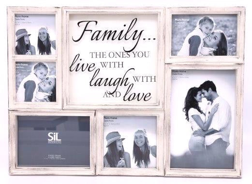 Family Multi Photo Frame 50cm