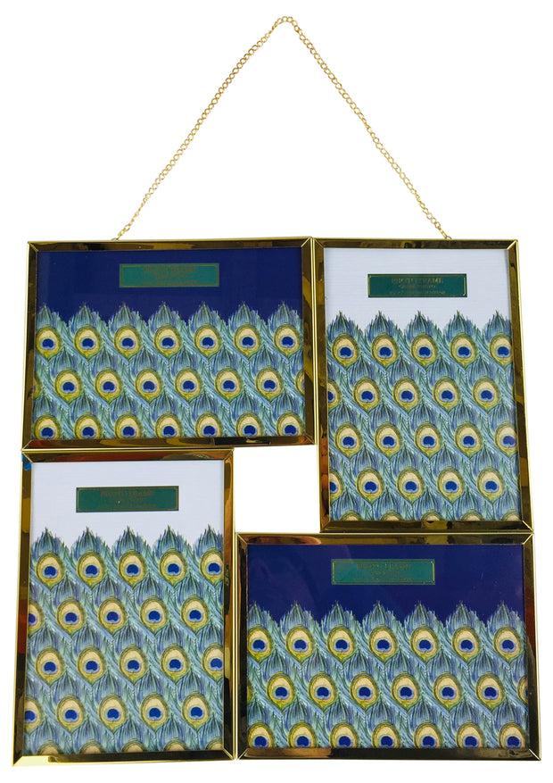 Gold Hanging Metal Frames 31cm