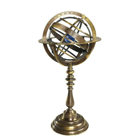 Bronze Armillary Dial - Allissias Attic  &  Vintage French Style
