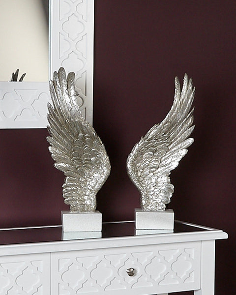 Angel Wing Decoration - Mother Of Pearl - Left