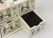 London 4 Drawer Storage Box