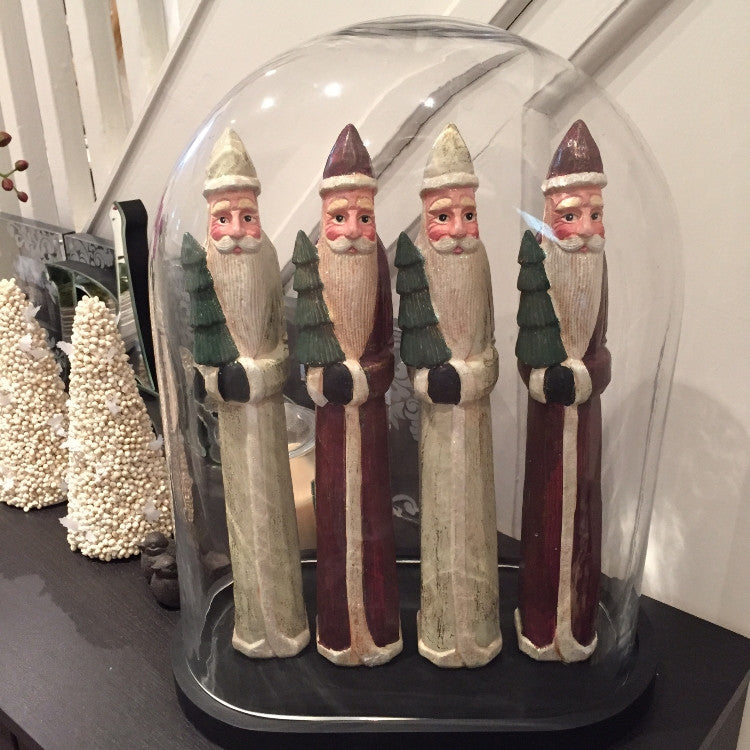 Tall Santa Decor - Allissias Attic  &  Vintage French Style - 1