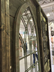 Ornate Gothic Mirror for the Garden or Patio - Allissias Attic  &  Vintage French Style - 7