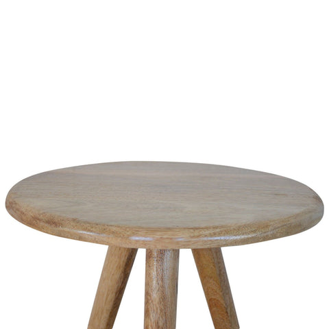 Lulu Round Tripod Table