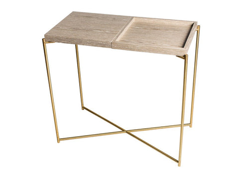 Small Console Table with combination Top Option