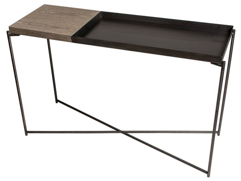 Large Console Table with Combination Tops