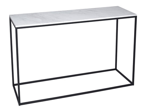 White Marble Console Table
