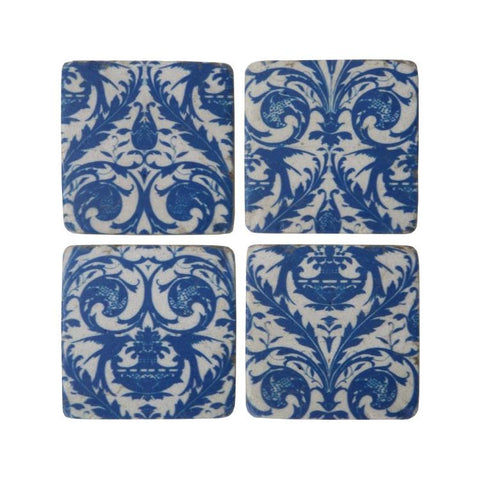 Santorini Coasters - Set of 4