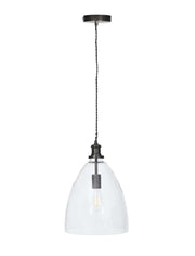 Hoxton Bullet Pendant Light - Antique Bronze