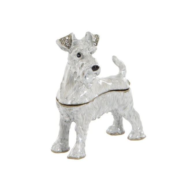Grey Schnauzer Trinket box