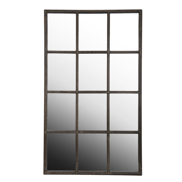 Window Framed Mirror - suitable for outdoor use