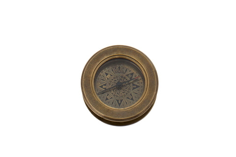 Compass with Hidden Magnifying Glass - Allissias Attic  &  Vintage French Style - 3