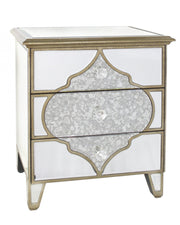 Mirror 3 Drawer Cabinet