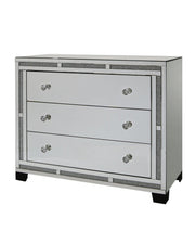 Milan Mirror 3 Drawer Chest