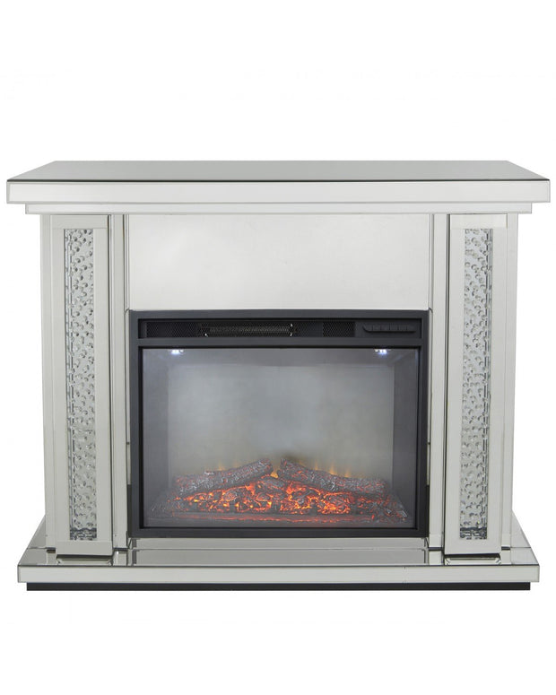 Mirror Fire Surround with Electric Fire (Set)