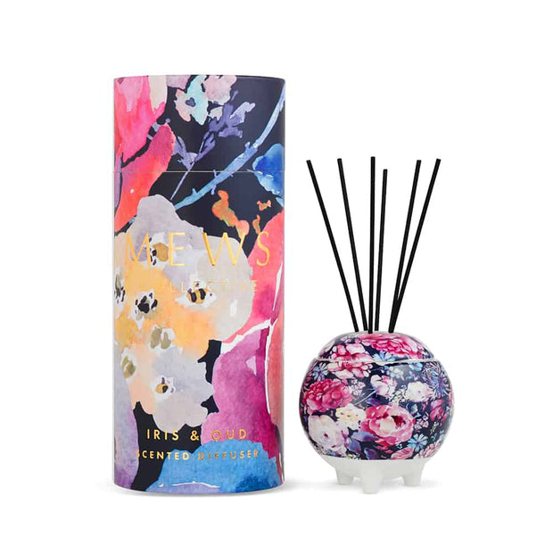 MEWS Collective Candle or Diffuser - Iris & Oud - Mini