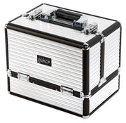 Vanity Case / Makeup Box Box Black & Silver