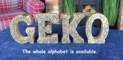 Hand Carved Wooden Letter - A to Z