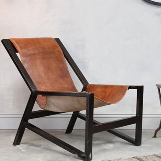 Narwana Leather Lounger