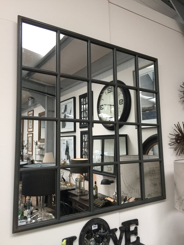 Metal Gridded Mirror