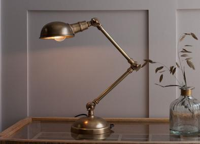 Brass Odhi Desk Lamp