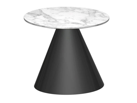Cone Base Side Table - Round