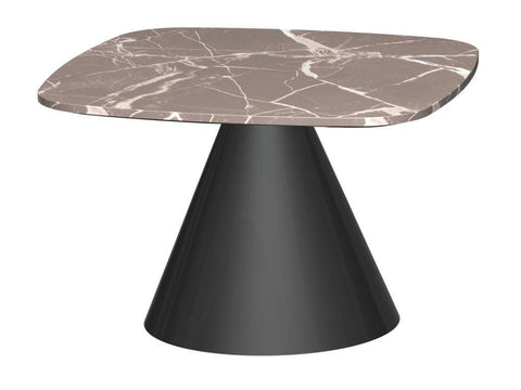Cone Base Side Table - Square