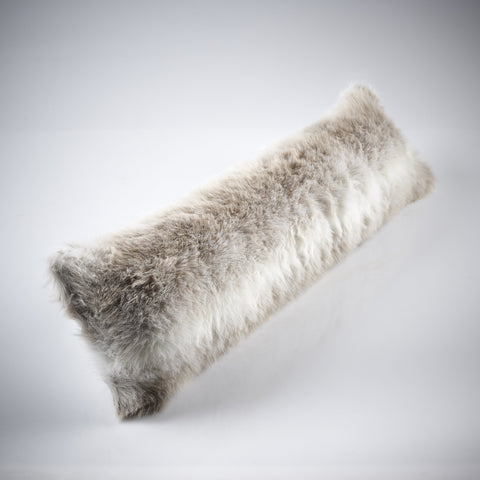 Katrina Hampton Faux Fur Draft Excluder - or Long Cushion