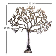 Large Metal Tree Of Life Wall Plaque