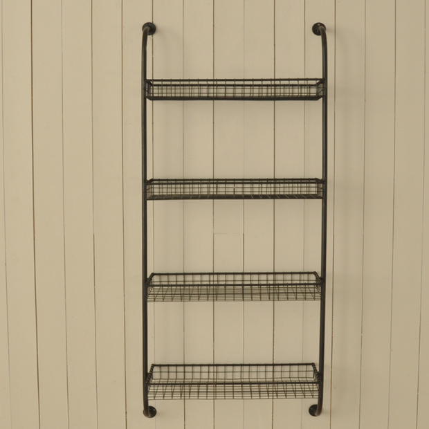 Wall Shelving Unit - Allissias Attic  &  Vintage French Style - 1