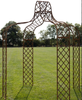 Large Iron Gazebo - Allissias Attic  &  Vintage French Style - 2