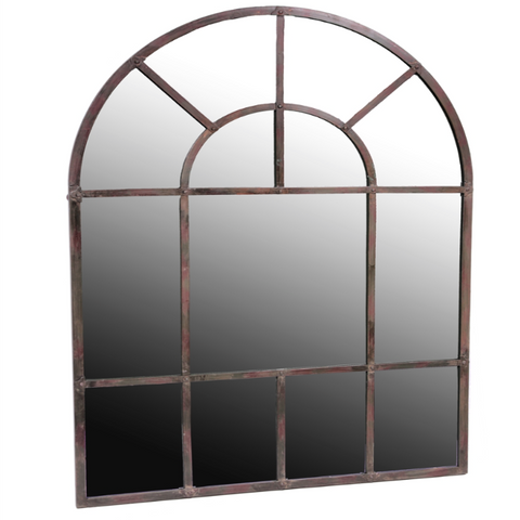 Iron Arch Framed Mirror - Small - Allissias Attic  &  Vintage French Style - 2