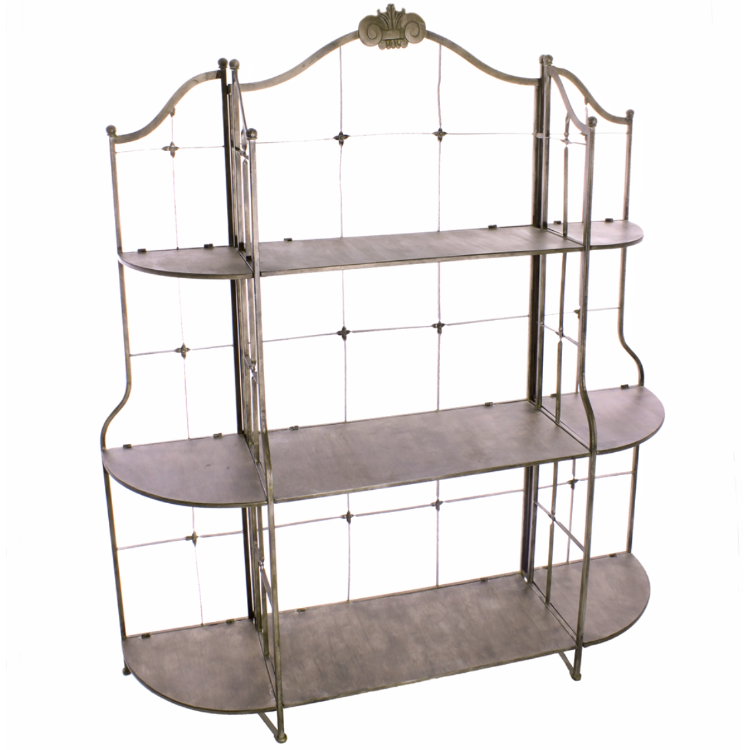 Eton Metal Display Unit - Allissias Attic  &  Vintage French Style