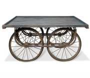 Reclaimed Indian Cart Table - Allissias Attic  &  Vintage French Style - 4