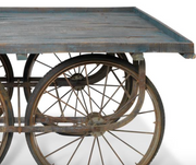 Reclaimed Indian Cart Table - Allissias Attic  &  Vintage French Style - 3