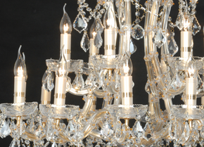 18 Light Chandelier -  - 2