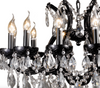 Black Classic Crystal Chandelier - Allissias Attic  &  Vintage French Style - 2