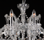 Enormous Crystal Drop Chandelier - Allissias Attic  &  Vintage French Style - 2