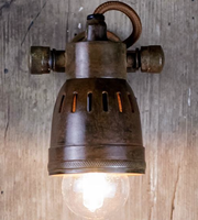 Brass Vintage Style Spotlight - Allissias Attic  &  Vintage French Style - 3