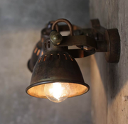 Brass Vintage Style Double Spotlight - Allissias Attic  &  Vintage French Style - 2