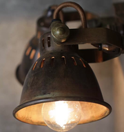 Brass Vintage Style Double Spotlight - Allissias Attic  &  Vintage French Style - 5