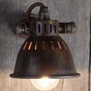 Brass Vintage Style Single Spotlight - Allissias Attic  &  Vintage French Style - 1