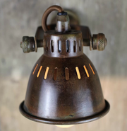 Brass Vintage Style Single Spotlight - Allissias Attic  &  Vintage French Style - 2