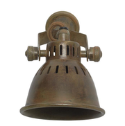 Brass Vintage Style Single Spotlight - Allissias Attic  &  Vintage French Style - 3