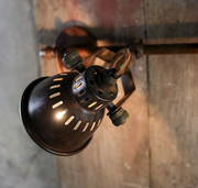 Brass Vintage Style Double Spotlight with Sliding Bracket - Allissias Attic  &  Vintage French Style - 2