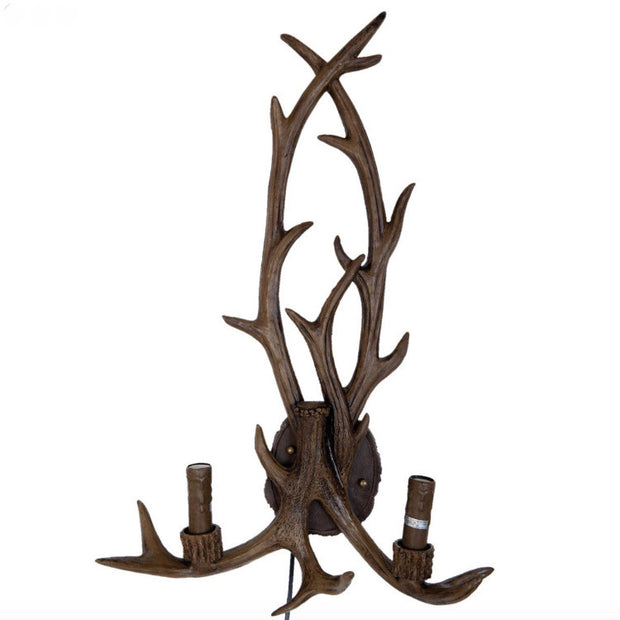 Antler Wall Lamp - Allissias Attic  &  Vintage French Style - 1