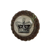 Crown Cupboard Knob - Allissias Attic  &  Vintage French Style - 1