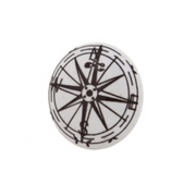 Compass Cupboard Knob - Allissias Attic  &  Vintage French Style - 1