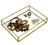 Orangery Glass & Brass Jewellery Box & Trays - Allissias Attic  &  Vintage French Style - 3
