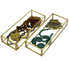 Orangery Glass & Brass Jewellery Box & Trays - Allissias Attic  &  Vintage French Style - 7